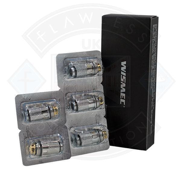 Wismec Atomiser Heads WL01 0.15ohm 5pack