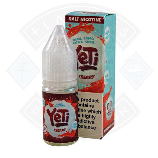 Yeti Salt - Cherry 10ml E Liquid