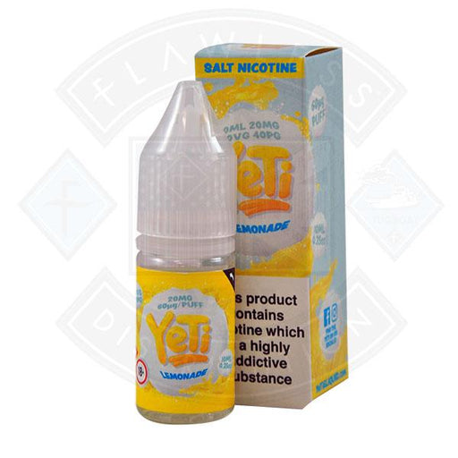 Yeti Salt - Lemonade 10ml E Liquid
