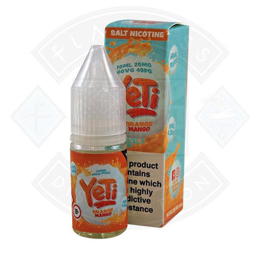 Yeti Salt - Orange Mango 10ml E Liquid