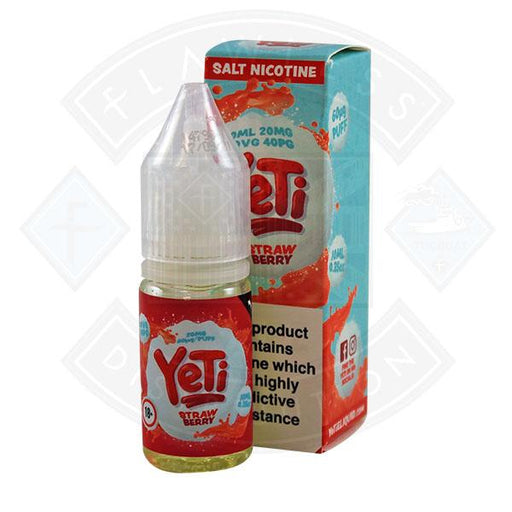 Yeti Salt - Strawberry 10ml E Liquid