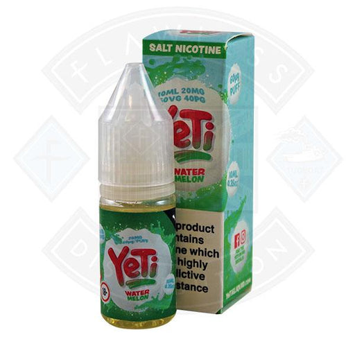 Yeti Salt - Watermelon 10ml E Liquid