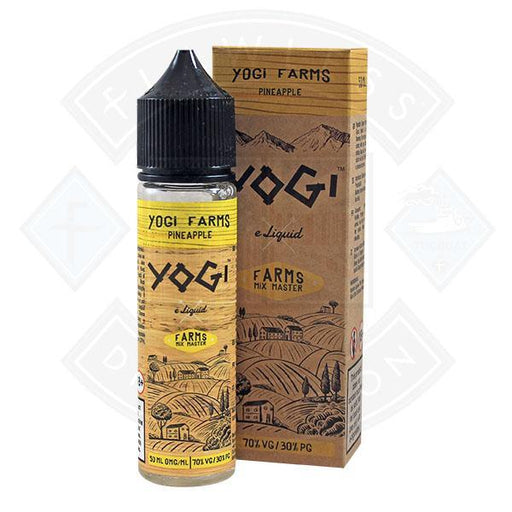 Yogi Farms - Pineapple 0mg 50ml Shortfill