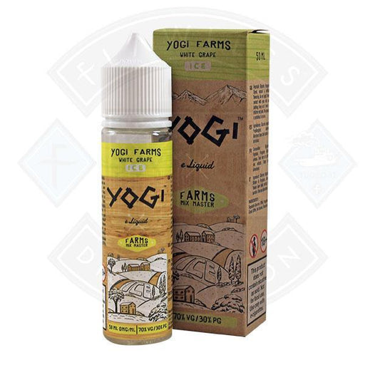 Yogi Farms - White Grape Ice 0mg 50ml Shortfill