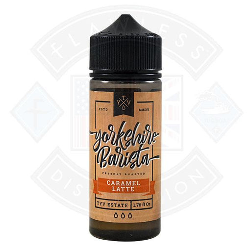 Yorkshire Barista Caramel Latte 0mg 100ml Shortfill
