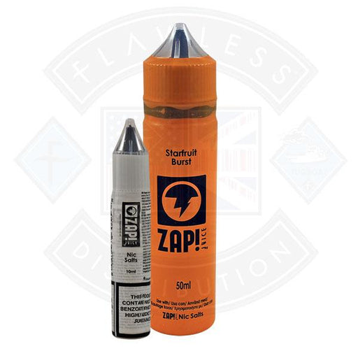 Zap! Starfruit Burst 50ml 0mg Shortfill E-Liquid