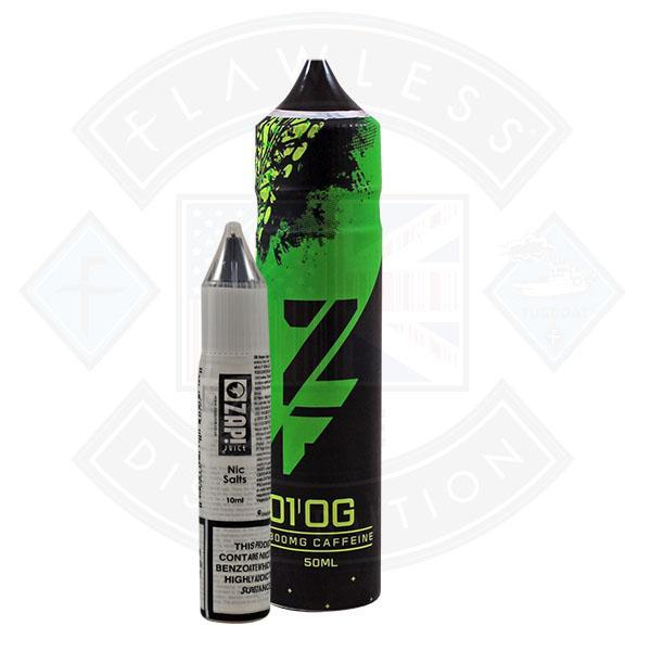 Zap! ZFUEL 01 Original 50ml 300mg Caffeine Shortfill E-Liquid
