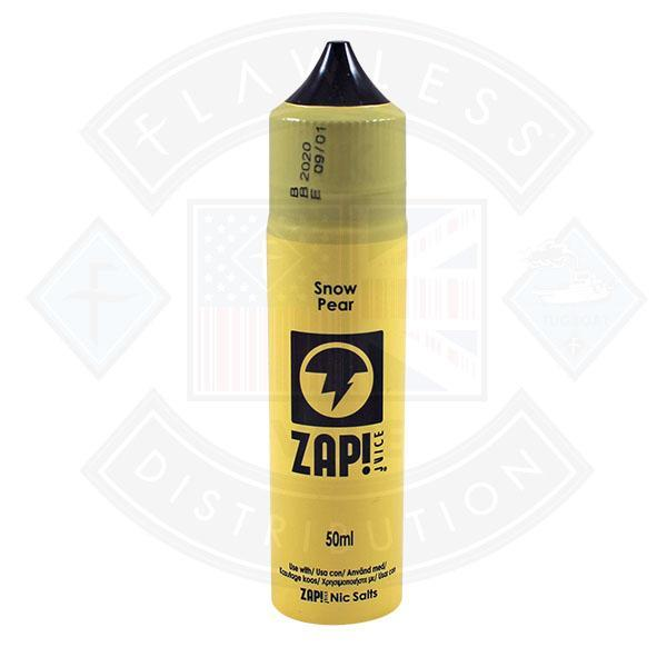 Zap! Snow Pear 50ml 0mg Shortfill E-Liquid
