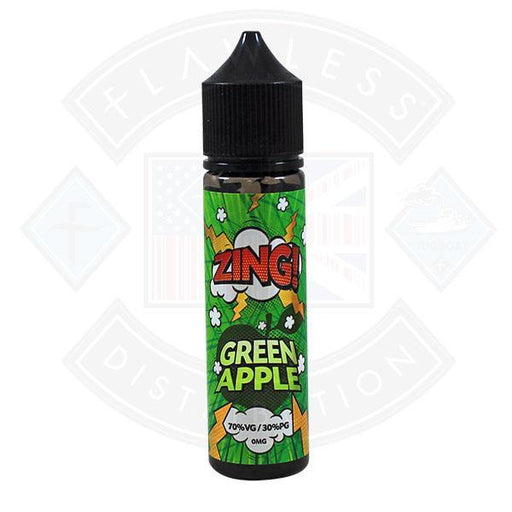 Zing! Green Apple 0mg 50ml Shortfill