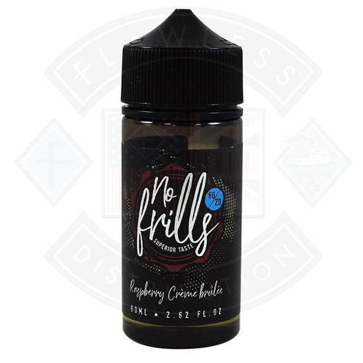 Raspberry Creme Brulee by No Frills 0mg 80ml Shortfill