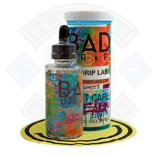 Bad Drip Don't Care Bear Iced Out 50ml 0mg Shortfill E-liquid