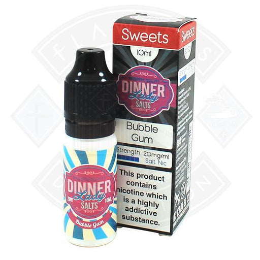 Dinner Lady Sweets- Bubblegum Salt Nic 10ml 20mg E-liquid