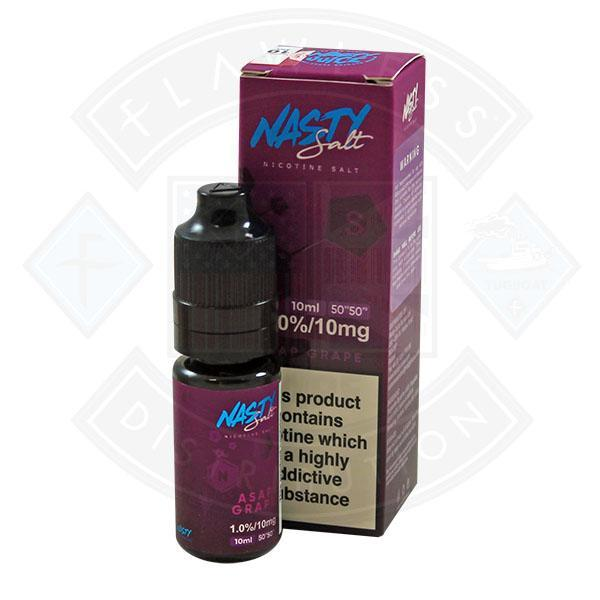 Nasty Juice Nasty Salt ASAP Grape E liquid 10mg 10ml