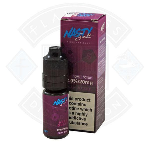 Nasty Juice Nasty Salt ASAP Grape E liquid 20mg 10ml