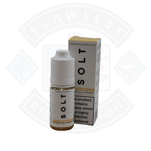 Vanilla 20mg Nic Salt By SOLT 10ml