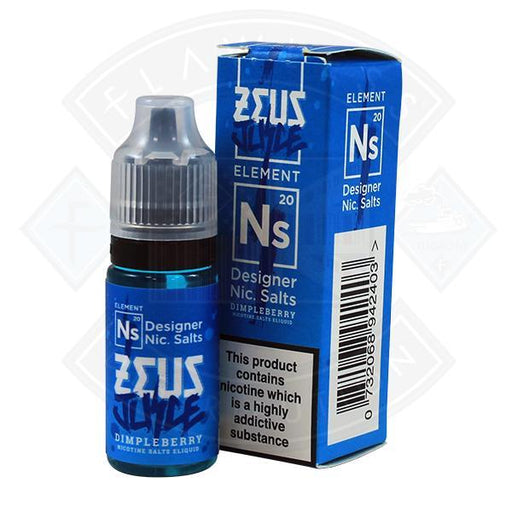 Zeus Juice - Nic Salt Dimpleberry 10ml 20mg E Liquid