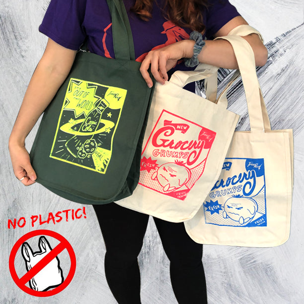 Reusable Grocery Bags!