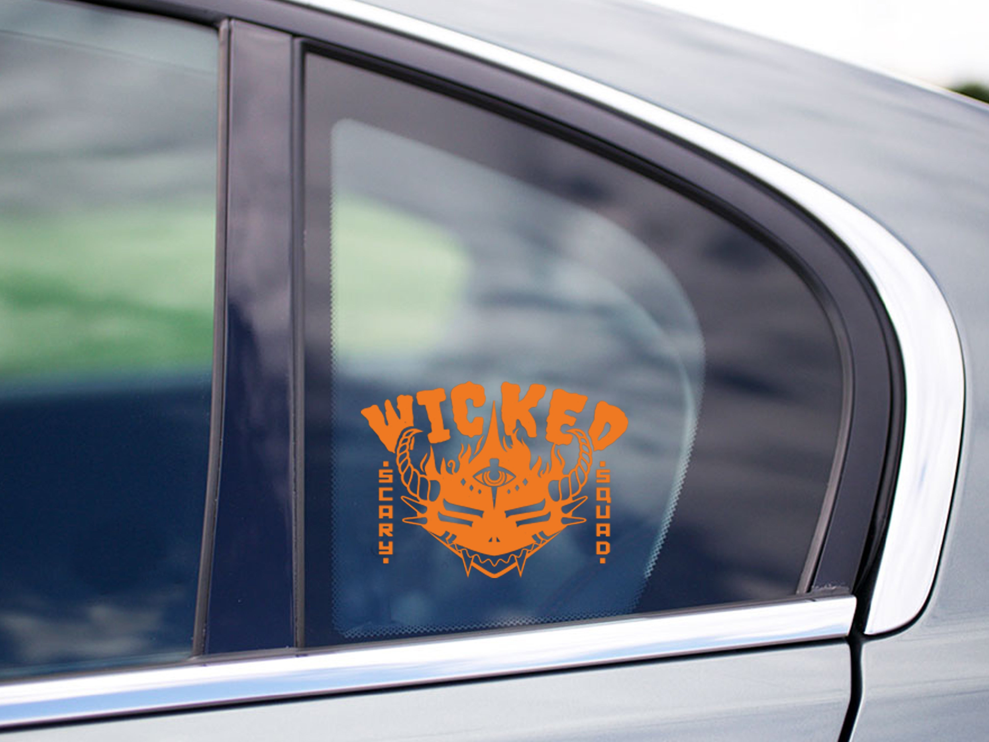 Wicked Scary Squad Vinyl Decal