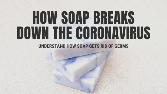 How Soap Breaks Down the Coronavirus