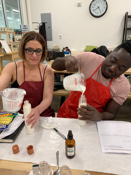 Lotion Making Class