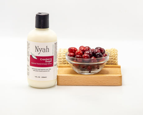 Cranberry Sugar Lotion