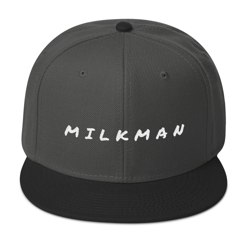 MILKMAN CLASSIC Embroidered Snapback Hat