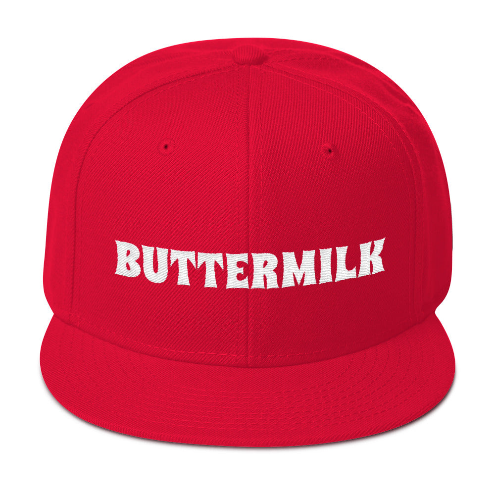 BUTTERMILK Snapback Hat Embroidered
