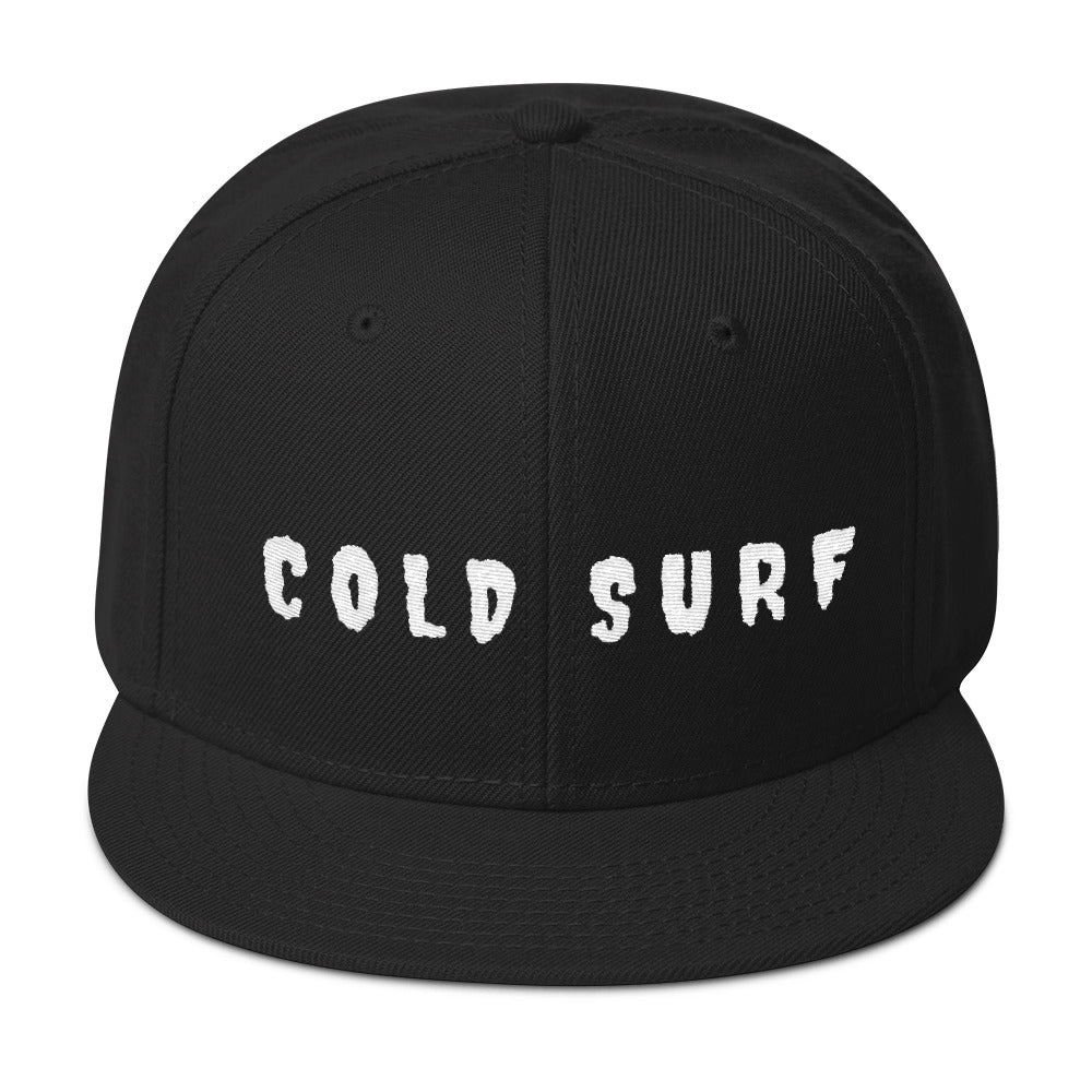 COLD SURF Snapback Hat Embroidered front/back