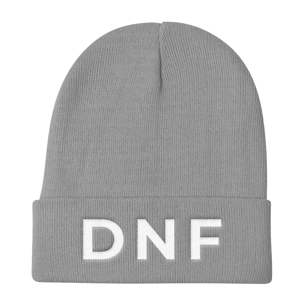 DNF Knit Embroidered Beanie
