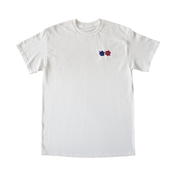 Floral Logo Tee