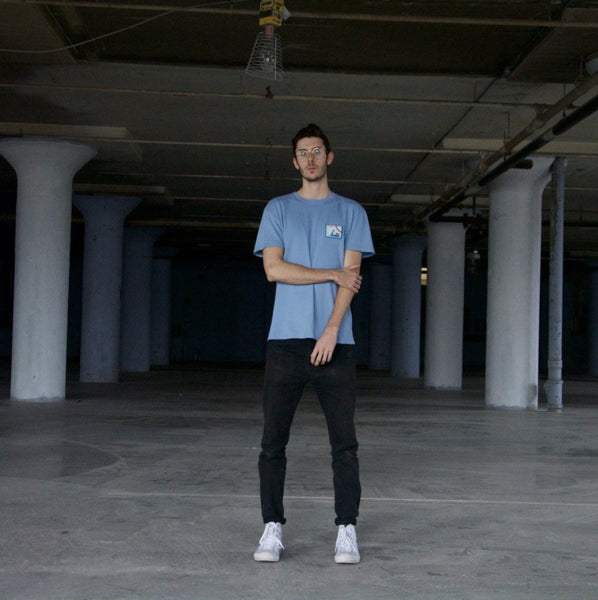Olympic Pigment Dyed Tee (Blue)