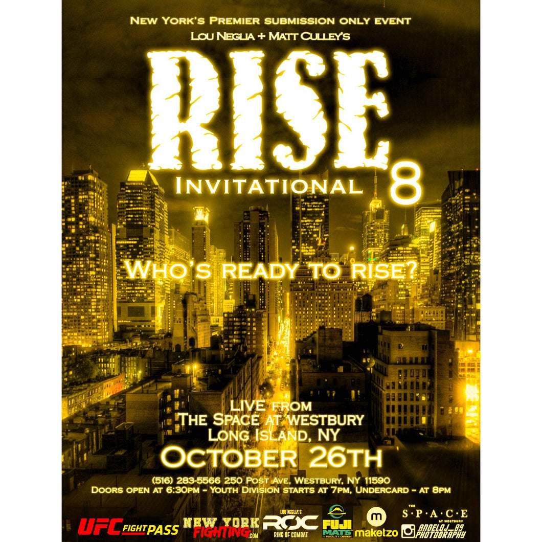 VIP tickets - RISE Invitational