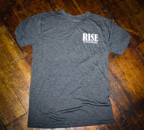 RISE Invitational Tee - Grey