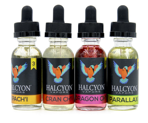 Halcyon 30mL Bundle