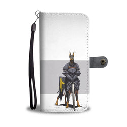The Dober Knight 2 In 1 Wallet and Phone Case - Battle Dogs Collection