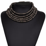 Kardashian Style Chic Choker And Bracelet Collection