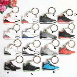 Premium Nike Air Jordan 3 Key Chains - 17 Colorways
