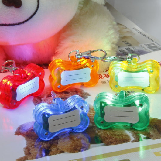 Dog ID Tag With LED By Pet Lovers Club