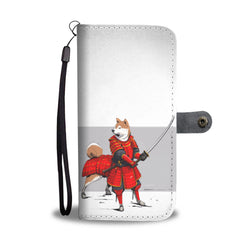 The Samurai Inu 2 In 1 Wallet and Phone Case - Battle Dogs Collections