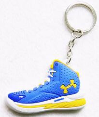 Buy 3 Get 2 FREE! 3D Printed Hand Finished UA Stephen Curry Key Chains
