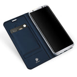 Deluxe Leather Wallet Flip Case For Samsung Galaxy 8