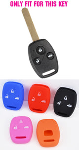 Protective Silicone Key Case For Honda Civic 2005 - 2017 Models