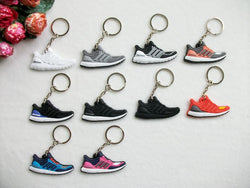 Special 10 Pcs Complete Set - Cute Adidas UltraBoost Key Chains