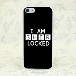 Lovely I AM SHERLOCKED iPhone Case- iPhone 4 to 7 Plus