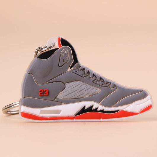 3D Printed Nike Air Jordan 5 Key Chains Collectibles