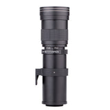 Lightbox 420-800mm F/8.3-16 Super Telephoto Zoom Lens for Canon Nikon Sony Pentax DSLR Camera