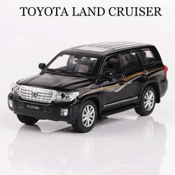 Toyota Land Cruiser 1:32 Scale Toy With Lights and Sound