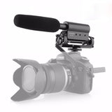 Universal Shotgun Video Microphone for DSLR Cameras