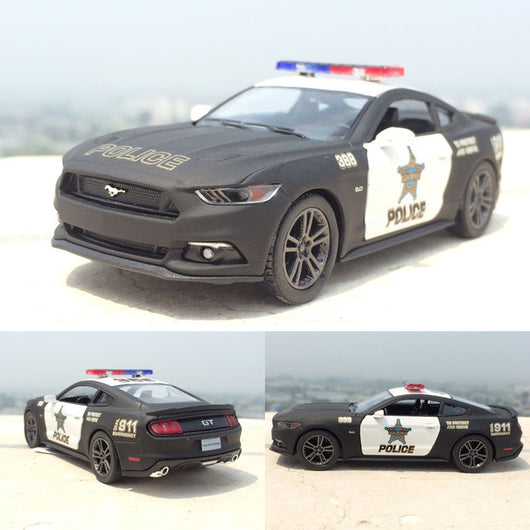 Ford Mustang GT Police Car 1:38 Scale Toy