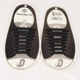 No Tie Style Shoelace Kit with FREE Chuck Taylors Keychain